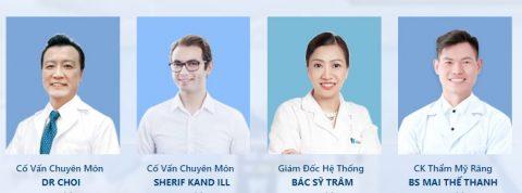 Đội ngũ cố vấn chuyên môn tại Nha khoa Paris.