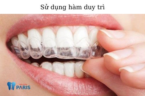 Chăm sóc răng sau khi tháo niềng 1